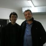 Con Massimo Carlotto