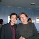 Con Gianni Celati