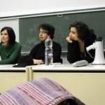 Presentazione alla facoltà di lingue occupata
