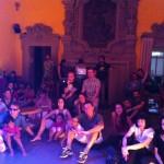 Con il pubblico di Bologna